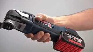 Bosch Blue Professional Power Tools - GOP 18V-EC Brushless Multitool