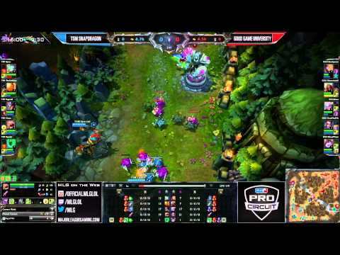 TSM Snapdragon vs Good Game University - LCS - MLG Dallas 2013