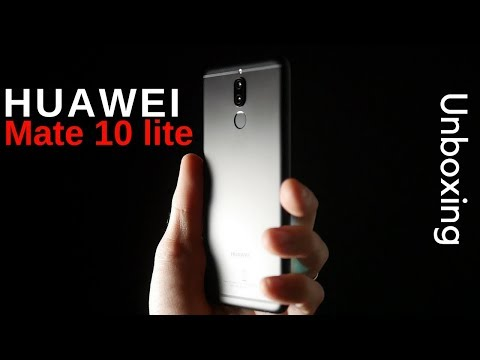Huawei Mate 10 lite Unboxing (velocissimo)