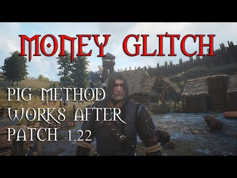 The Witcher 3 - Money Glitch after Patch 104 - Simple