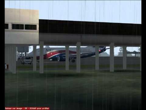 CAMEROON - DOUALA LANDING - ARIK AIR BOING 737.700 - FS2004