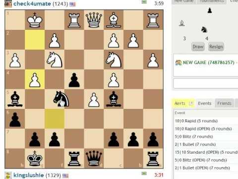 5-Minute Chess #3: Black in Bishop's Opening: Berlin Defense