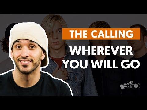 Wherever You Will Go - The Calling (aula De Violão Completa) video