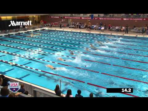 Men's 100m Freestyle C Final - 2012 Columbus Grand Prix