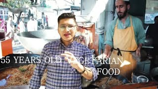 55 Years Old Famous Vegetarian Food In Karachi|Street Food Of Pakistan