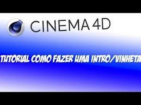 Como criar uma intro/Vinheta no Cinema 4D Efeito : Explosão FX