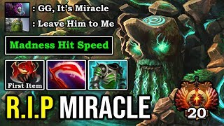 WTF 7.24 MADNESS SPEED TINY Deleted Miracle in 2 Seconds Crazy Meta 100% Broken Hero DotA 2