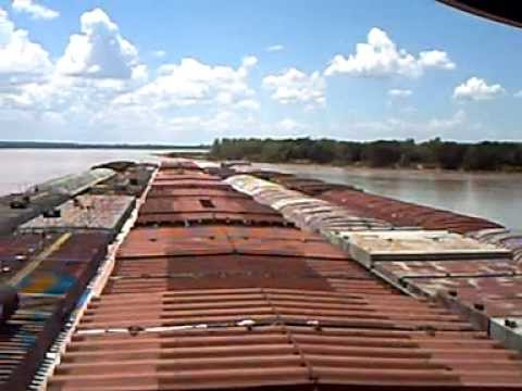 Bajando por el Rio Parana (Dowstream on  Parana River)
