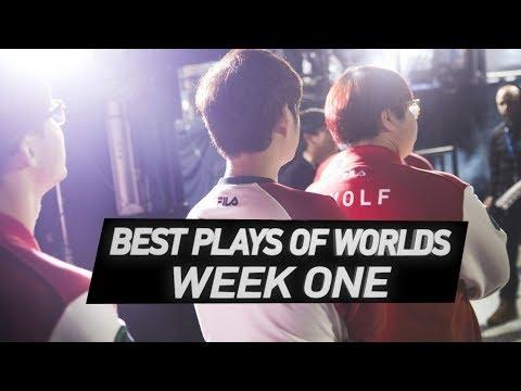 Best Plays of Week One: Worlds 2017   LoL eSports