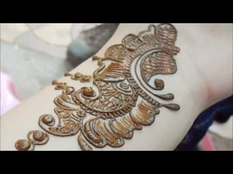 Best Mehendi Application Video 2013-arabic Bridal Full Hand Henna Mehndi Art Tutorial video