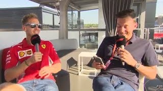 Live Q&A with Sebastian Vettel | F1 German GP 2018
