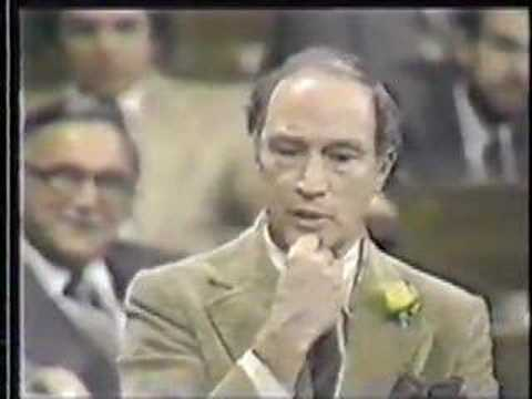 Shortly after the Progressive Conservative party under Joe Clark won a minority government in the 1979 federal election in Canada, Pierre Trudeau announced h...