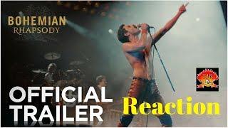 Queen Bohemian Rhapsody Movie Trailer Reaction