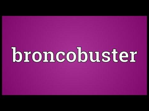 Header of broncobuster