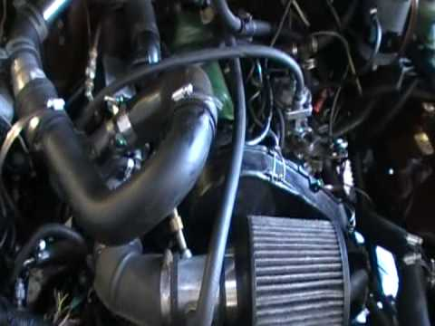 diesel swap:toyota pickup w/vw turbo diesel Video