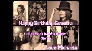 Sunetra Sarker's birthday video