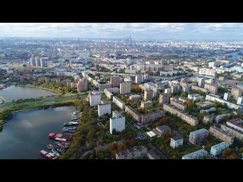 4К - Строящийся Московский Диснейленд Остров Мечты, Нагатинская пойма