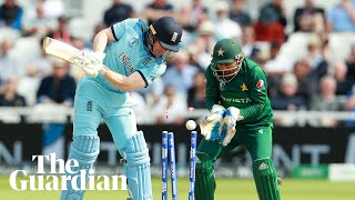 Cricket World Cup: Mohammad Hafeez and Eoin Morgan react after Pakistan stun England