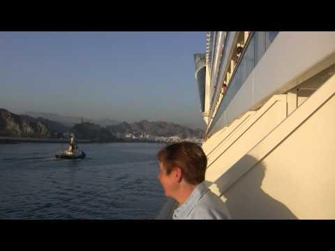 AIDA diva arriving in Muscat Port Sultan Qaboos.m2ts