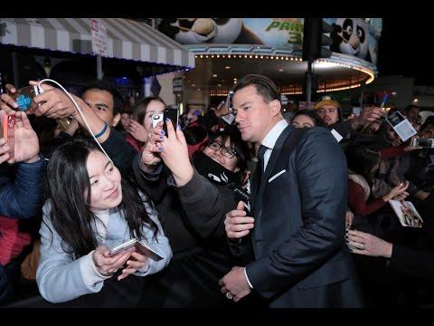 Hail, Caesar! World Premiere Red Carpet - George Clooney, Channing Tatum, Scarlett Johansson