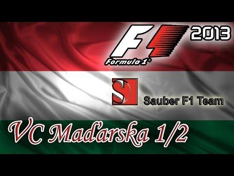 F1 2013 - Sezona 1 - Maďarsko - Trénink a Kvalifikace