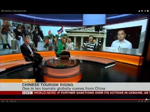 BBC World News: Chinese tourism report
