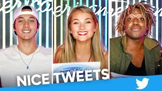 "Top 14 Read ""Nice Tweets"" - American Idol 2019 on ABC"