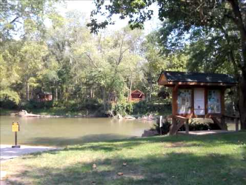 Little Miami Scenic Trail Lodging -  To Morgan's Campground & Cabins in Ft. Ancient, Ohio