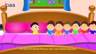 Ten in the Bed - iDaa Preschool Kids Rhymes. HD version.