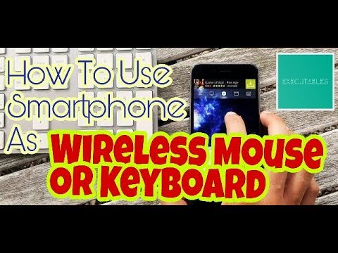 Smartphone As Wireless Mouse & Keyboard For Your Computer | Android IOS | Windows Mac Ubuntu Fedora