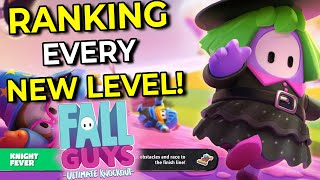 Fall Guys Season 2: Ranking and Explaining Every New Level from EASIEST to HARDEST!