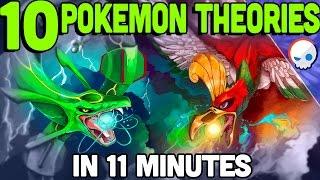 10 Pokemon Theories in 11 Minutes! | Toby x Gnoggin