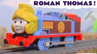 Thomas & Friends Digs and Discoveries Trackmaster Roman Thomas toy train story TT4U