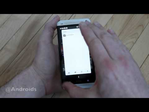 HTC One hands-on with BlinkFeed