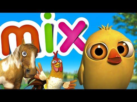 Цыпленок Пи и его друзья - Микс детских песен