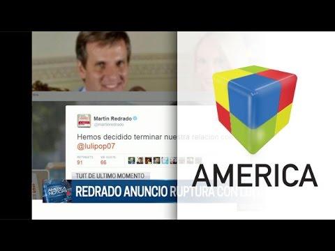 ¿Hackearon el Twitter de Martín Redrado para anunciar que se separaba de Luciana Salazar?