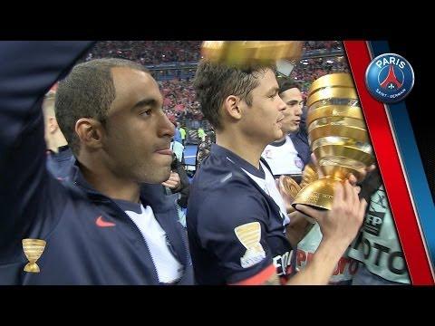 Lyon-Paris : La joie des Parisiens au Stade de France