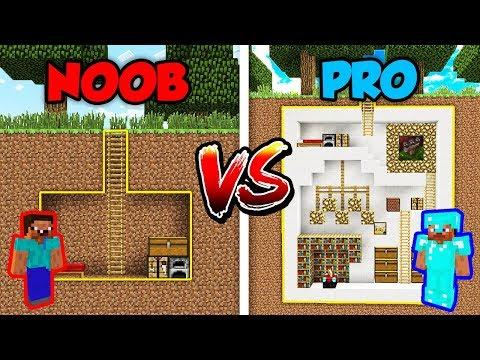 Minecraft NOOB vs. PRO: SECRET HOUSE in Minecraft!