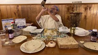 Passover demonstration by Dr. Otero