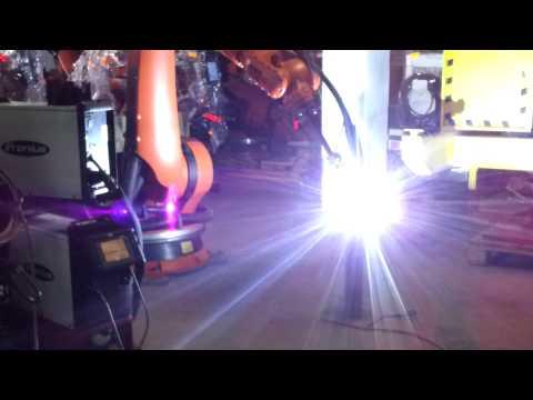 Kuka arc welding robot with CMT Fronius in eurobots