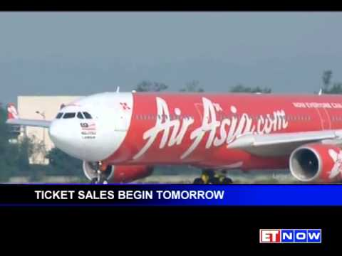 AirAsia Takes To Indian Skies -- Booking Starts Today
