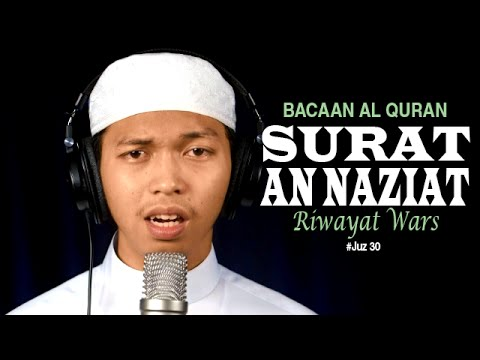 Video Murottal Al-qur'an Surat An-naziat (riwayat Warsy) - Ustadz Abdurrahim - Yufid.tv video