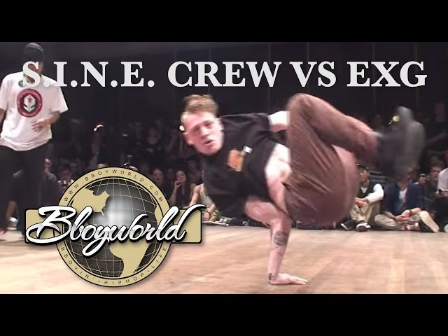 S.I.N.E CREW vs EXG (FLOOR WARS 2010) WWW.BBOYWORLD.COM