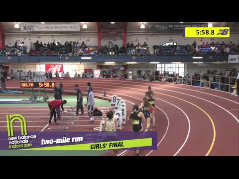 G 2Mile H02 (Carmen Carlos 10:25, HS Indoor Nationals 2012)