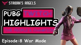 PUBG Twitch Stream Highlights Stridah's Angels Ep:8