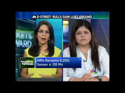 D-Street: Bulls Gain Lost Ground - Nifty Reclaims 8,200; Sensex (GU) 215 Pts
