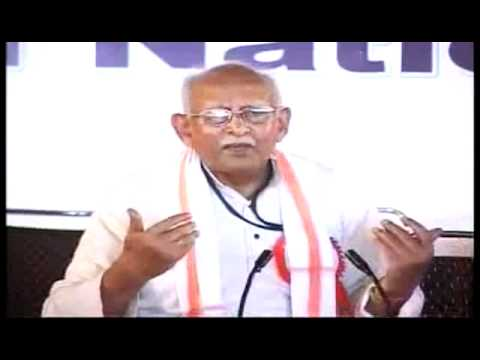 Ex-RSS-Chief K Sudarshan's Lecture: India's First-Ever 'National Security Convention',Haridwar,2010
