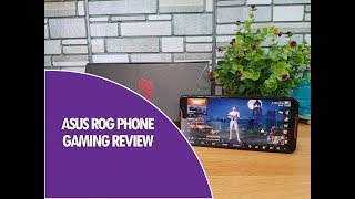 ASUS ROG Phone Gaming Review with PUBG, Heating and Battery Drain