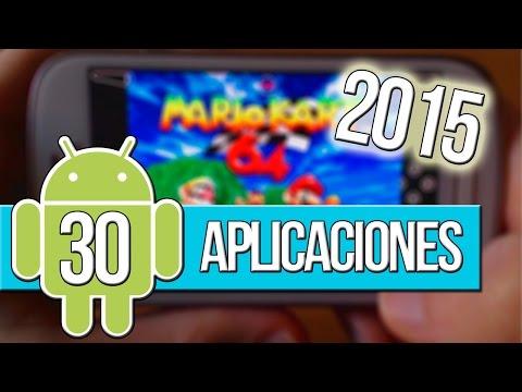Las 30 mejores aplicaciones Gratis para Android 2015 (Español)