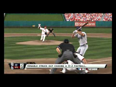 MLB the show 12:Cardinals vs San Diego Padres